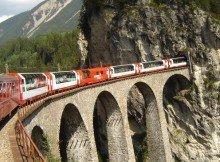 trens panorâmicos suíços