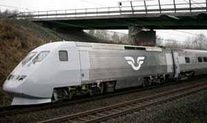 Outros trens europeus: x2000