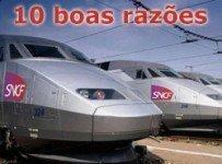 Viajar de trem Europa