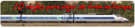 Trem Europa - Viagens de trem